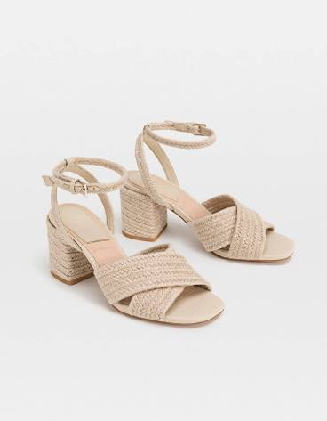 b14ad631e6c2d8 Naturally beautiful sandals and perfect for any spring occasion. Grab your  favourite pair at Stradivarius #01-38 #StradivariusSG more