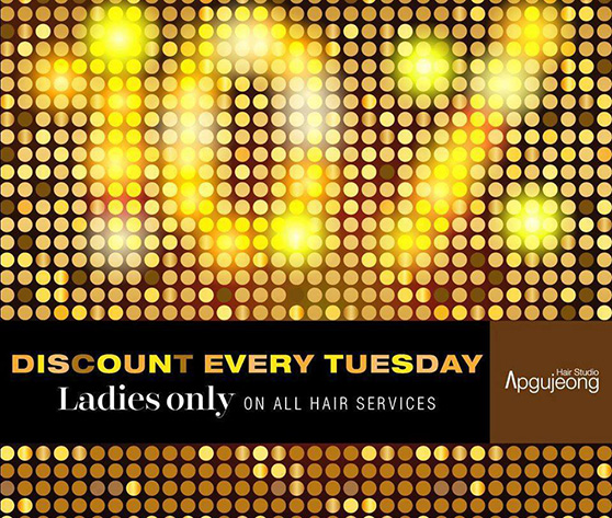 a1dde1f02 LADIES DAY PROMOTION EVERY TUESDAY