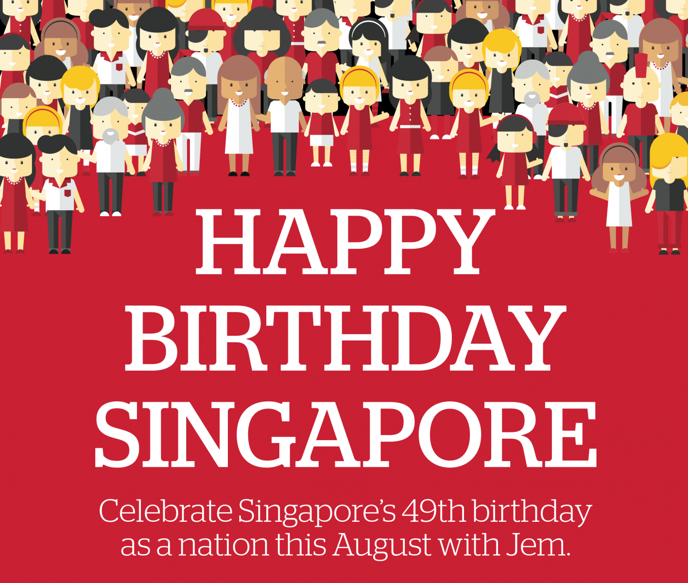 Celebrate Singapore's 49th Birthday As A Nation At