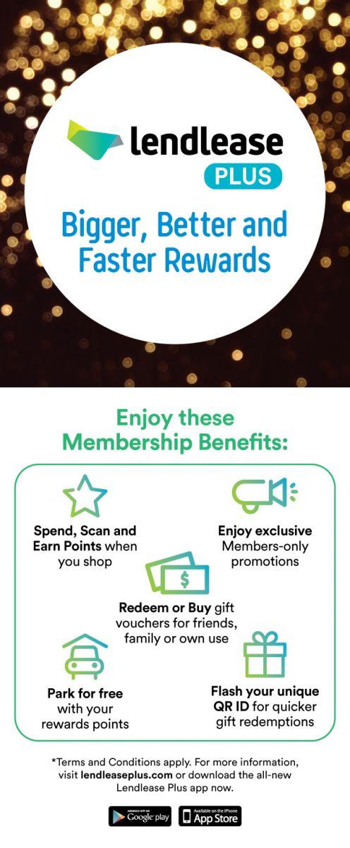 Jem® - About Lendlease New Loyalty Programme