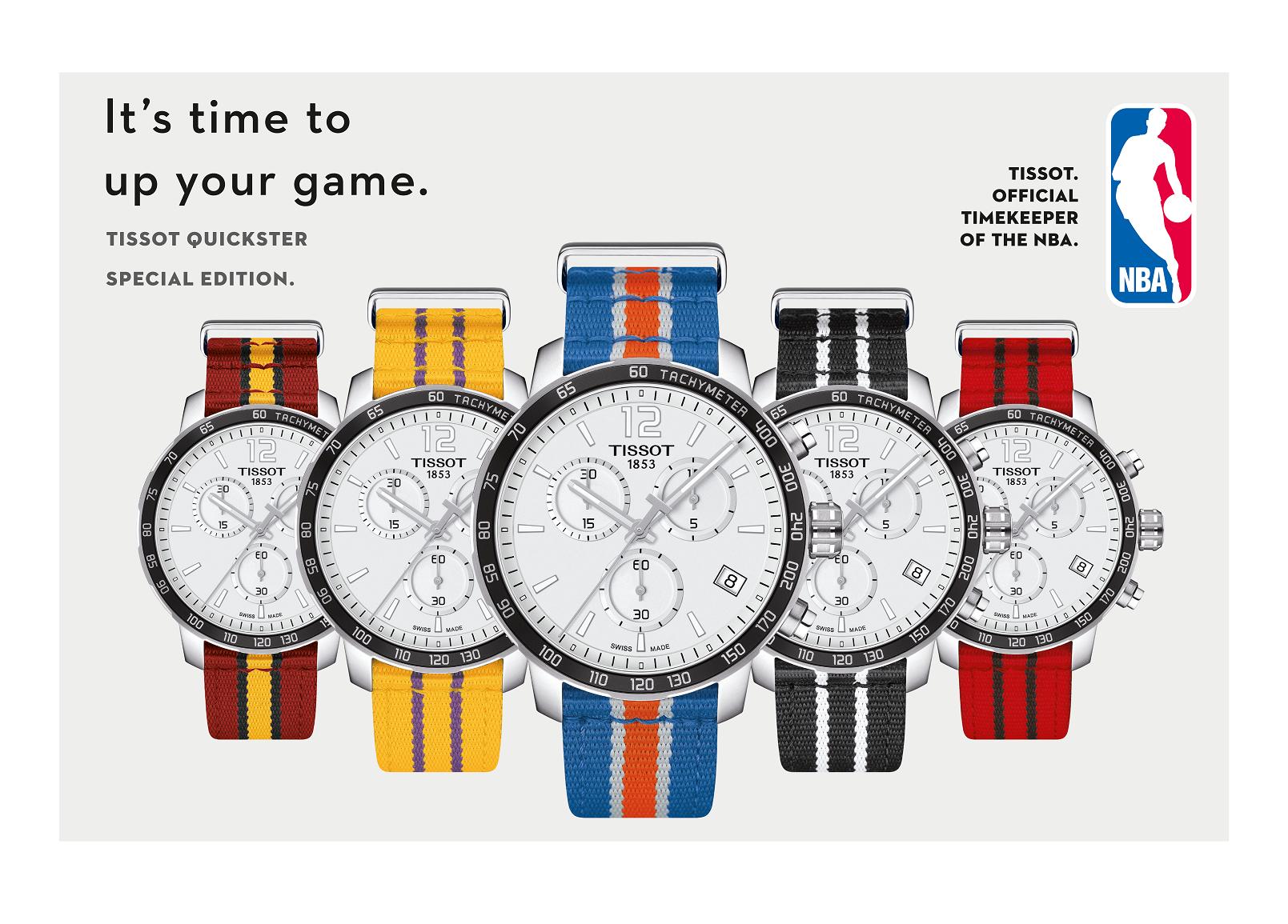 037c99e0f51a Jem® - Tissot Quickster NBA Teams Special Editions