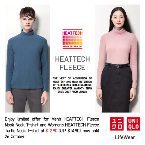 Uniqlo Heattech Japan Uniqlo Heattech Fleece