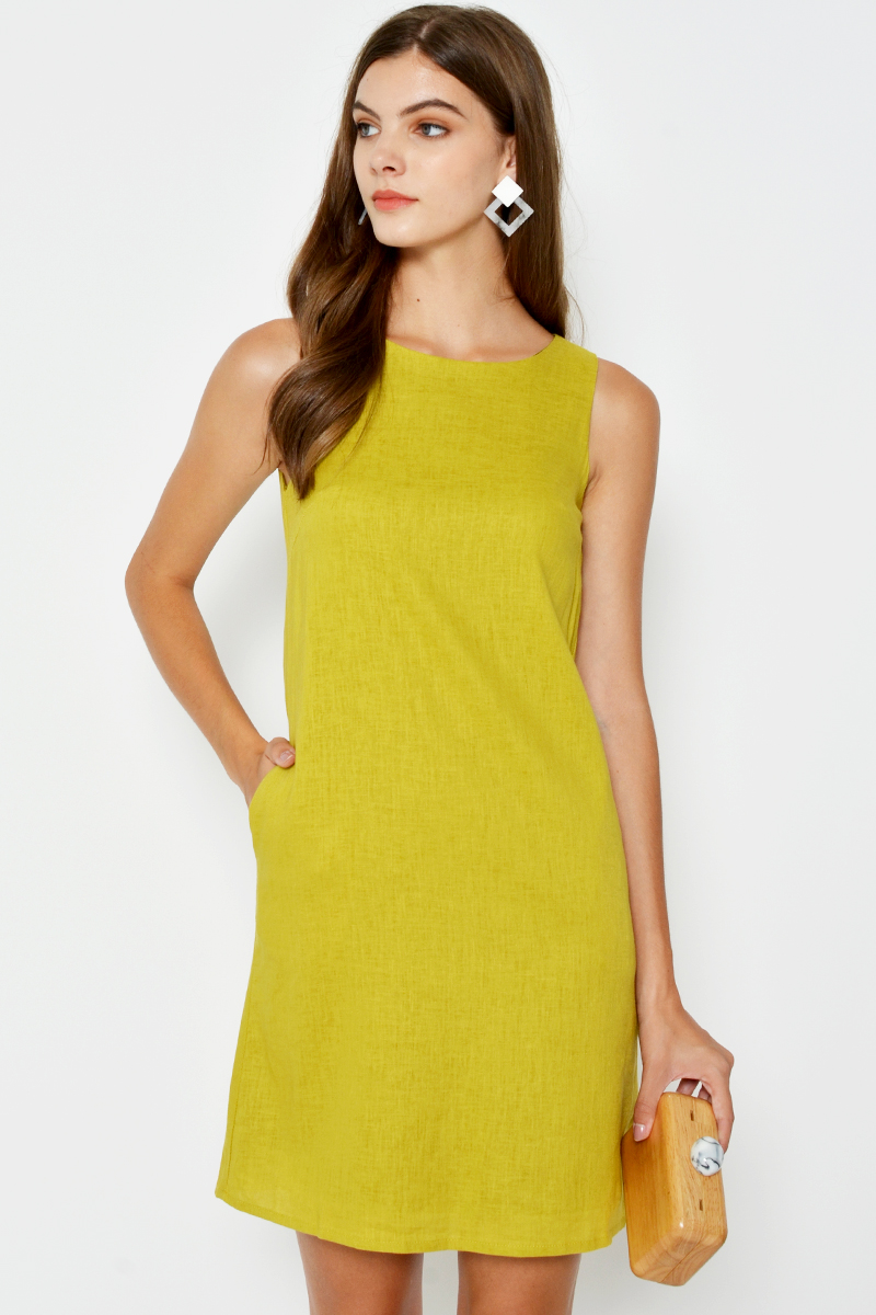 af36da519aa9 KELSEY SHIFT DRESS Available in Lime, Navy and Jade.