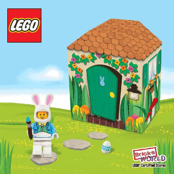 LEGO Free Gift – Easter Bunny Hut - Jem®